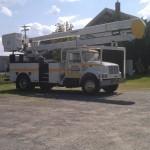 koval electric Bucket Truck